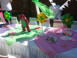 barney and friends birthday party ideas home party ideas