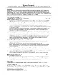 Sourcing Engineer Resume Project Management Resume Template Zuffli
