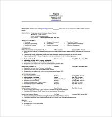 Good Resume Pdf Resume Template For Internship Good Resume Samples Best Resume
