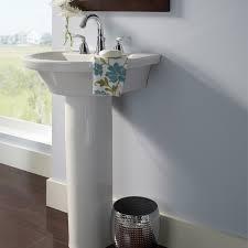 Small Pedestal Bathroom Sinks Tropic Petite 21 Inch Pedestal Sink American Standard