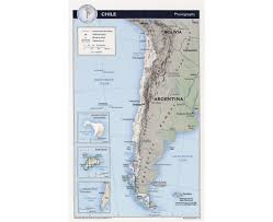 Physiographic Map Of The United States by Maps Of Chile Detailed Map Of Chile In English Tourist Map