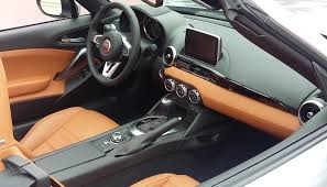 Saddle Interior 2017 Fiat 124 Spider The Daily Drive Consumer Guide