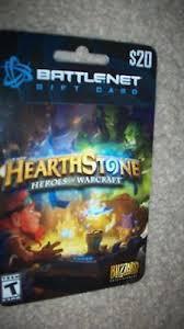 battlenet prepaid card blizzard battle net 20 charge up prepaid hearthstone gift card