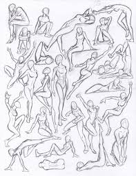 Female Body Anatomy Drawing Best 25 Human Figure Drawing Ideas On Pinterest Figure Drawing