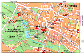 map of st albans top 8 tourist attractions in st albans planetware
