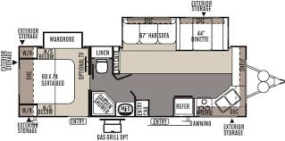 Rockwood Trailers Floor Plans 2015 Forest River Rockwood Ultra Lite 2608ws Travel Trailer Mesa