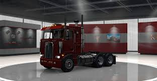 2016 kenworth cabover kenworth k100 truck v2 edited by solaris36 american truck