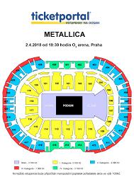 O2 Arena Floor Seating Plan by O2 Arena Metallica
