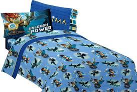 amazon com lego legends chima laval sheet set 4pc full bedding