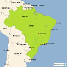 city map of brazil brazil vacations with airfare trip to brazil from go today