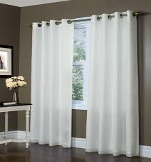 Bed And Bath Curtains Plain White Drapes Bed Bath Curtain Covering Hung Window Designed