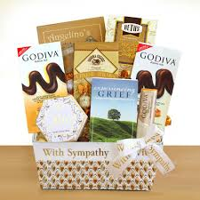 sympathy baskets givens company healing and sympathy basket giv 9509 the