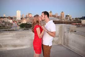 milwaukee photographers milwaukee wi rooftop engagement brandon leigh kate botwinski