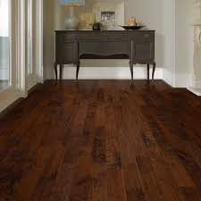 Shaw Laminate Floors Solid Parquet Flooring Nailed Hickory Matte Finish Smoky