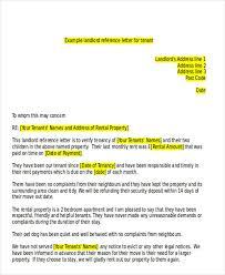 Sle Verification Letter For Tenant Sample Landlord Reference Letter Template Best Ways Sample