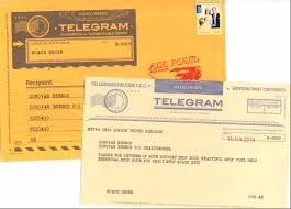 how do you send a telegram letter writers alliance send a telegram sort of