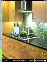 kitchens with glass tile backsplash mesmerizing green subway tile backsplash kitchen green subway tile