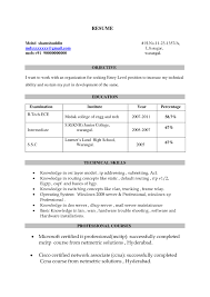 oracle dba resume format for freshers resume for your job