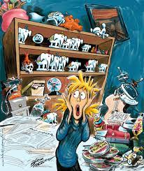 Cluttered House Organizing And Decluttering Your House Fx3