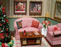 How To Decorate A Home For Christmas Living Room Decor Painting Beautiful Decorating Interior Paint