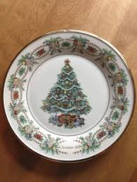 set lenox colonial wreath collection plates orig in