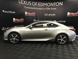 lexus rc used used 2017 lexus rc 300 2 door car in edmonton ab l12740