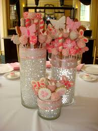 Barbie Themed Baby Shower by Edible Centerpieces Love This Idea For The Bridal Shower