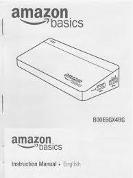 amazon basics 7 port usb 3 hub b00e6gx4bg owners manual user guide