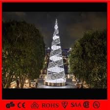 lighted spiral tree home decoration cool outdoor
