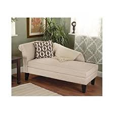 amazon com beige tan storage chaise lounge sofa chair couch for