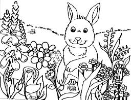 spring coloring pictures for kindergarten activity shelter