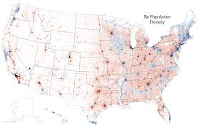 Population Map There Are Many Ways To Map Election Results We U0027ve Tried Most Of