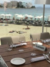 cuisine pez mediterranean cuisine with views at pez playa in me hotel in magaluf
