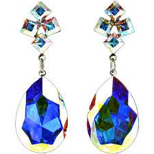 jim earrings jim earrings ce337 ab silver swarovski