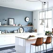 blue kitchen cabinets grey walls 17 inviting blue kitchen wall décor ideas to
