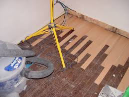 How To Put In Wood Flooring Creating Our Home Office Part 2 Repairing And Refinishing Our