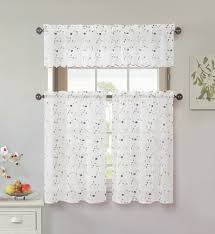 Apple Kitchen Curtains by Tier Curtains Cafe Curtains Kmart