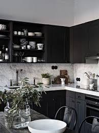 Kitchens With Black Cabinets Pictures 48 Beautiful Stylish Black Kitchen Cabinets Inspirations