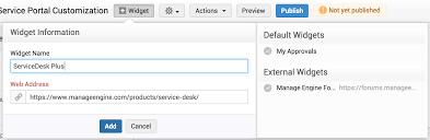 Changegear Service Desk Customize Self Service Portal Help Desk Admin Guide