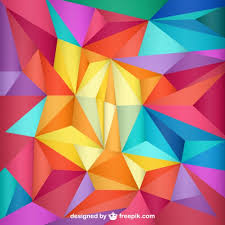 triangle pattern freepik triangles template background vector free download