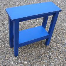 narrow side table end table side table narrow table wood table night stand