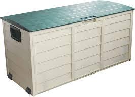 Backyard Storage Containers Garden Storage Box Argos Home Outdoor Decoration
