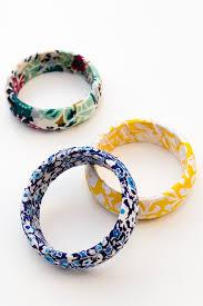 bangle bracelet diy images Diy fabric wrapped bangle bracelets sarah hearts jpg