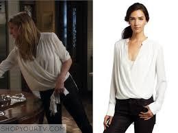 white wrap blouse mistresses season 2 episode 6 josslyn s white wrap blouse shop