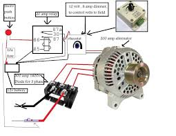 how to wire an alternator to weld google search crafty