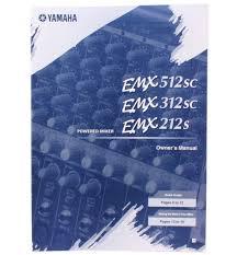 yamaha emx212s 200 watt 12 channel powered mixer emx212 audio