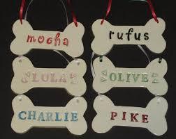 crafty saints ceramic personalized bone ornament