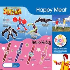 mcdonalds spider man kitty toys toy collector zealand