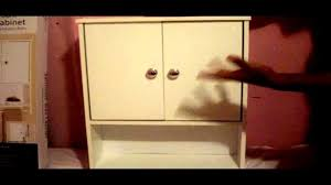 reviewing walmart bathroom wall cabinet youtube
