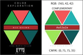 Red Complementary Color Eva Maria Keiser Designs Explore Color